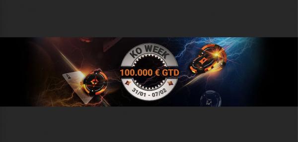 Una settimana sul ring di partypoker: parte la KO Week!